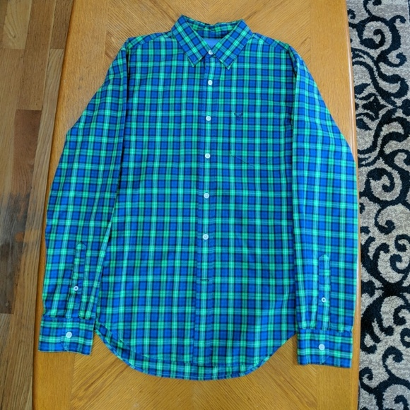 American Eagle Outfitters Other - Men's American Eagle Plaid Button Up Shirt (S)